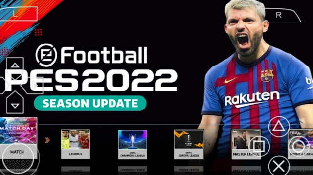 PES 2022 PSP ISO English Download PPSSPP PS4, PS5 Camera