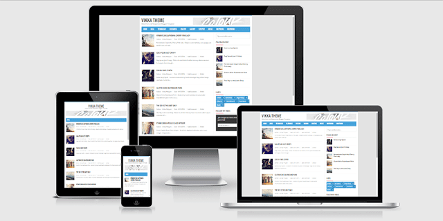 Vikka Blogger Templates