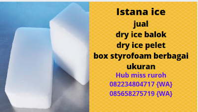 Jual Dry ice Murah Jakarta utara