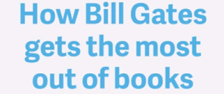 how bill gates the most out of the books on humbaa