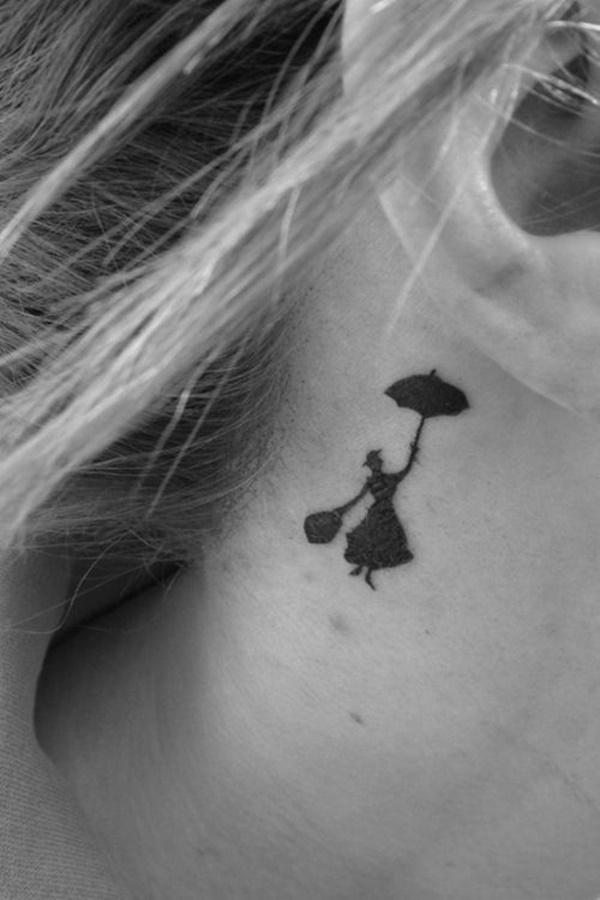 gambar tato di leher
