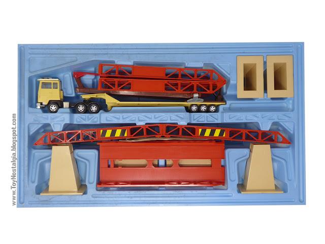 MATCHBOX - Super Kings - Construction Bridge Layer  K-44 Bandeja de contenido - Made in England - 1981 (Lesney England)