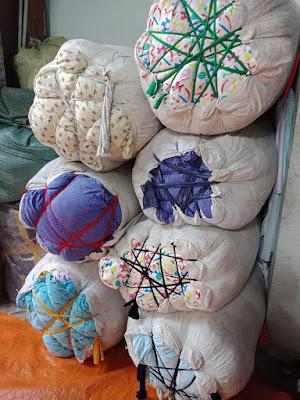 Vải cotton khúc hàn quốc