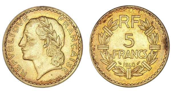 Старинная монета из алюминиевой бронзы