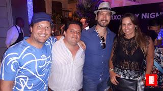 José Luis Muñoz, Federico Reyes, Alberto Sánchez y Daniela Arceo.