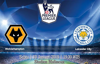 Prediksi Wolverhampton vs Leicester City 19 Januari 2019