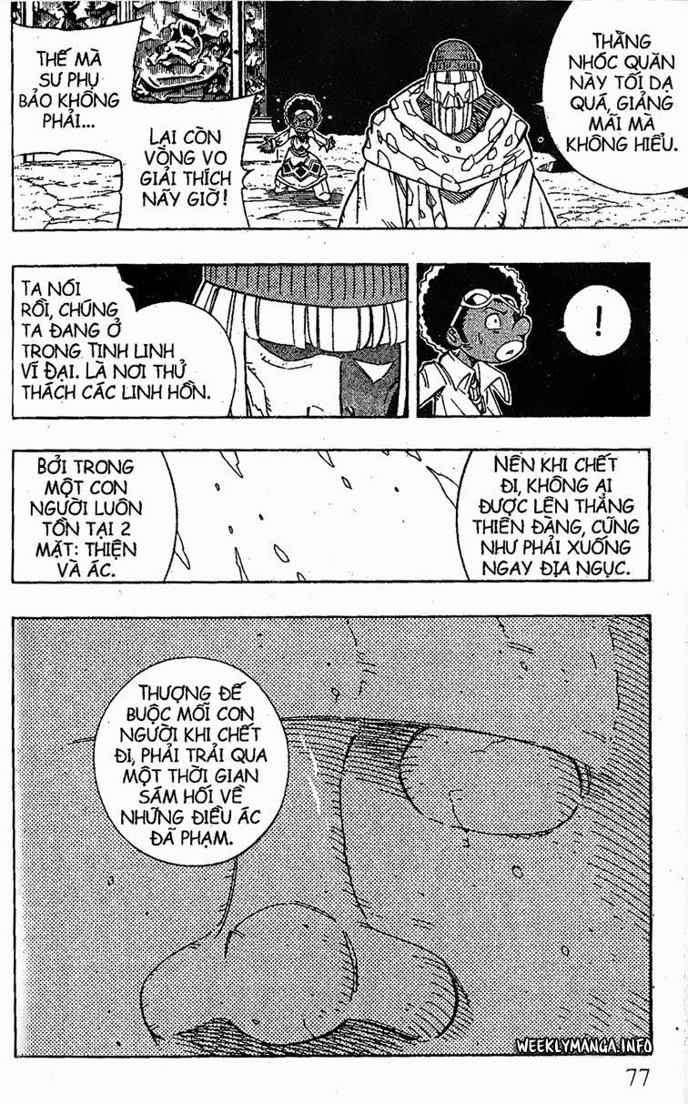 Shaman King [Vua pháp thuật] chap 194 trang 20