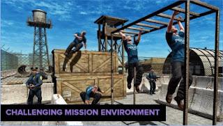 Games US Police War Training School App