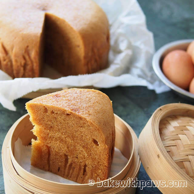 Ma Lai Kou (Steamed Sponge Cake)