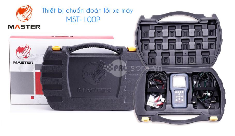 Máy đọc lỗi, chuẩn đoán lỗi xe máy phun xăng điện tử mst-100p