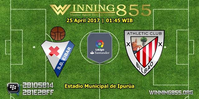 Prediksi Skor Eibar vs Athletico Bilbao 25 April 2017