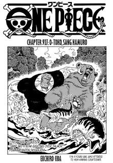 Update! Baca Manga One Piece Chapter 927 Full Sub Indo