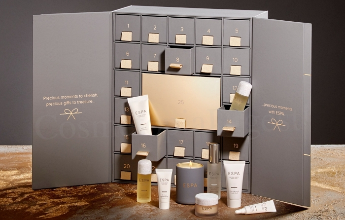 ESPA Beauty Advent Calendar 2019 spoilers and contents