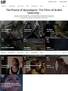TIFF: The Poetry of Apocalypse: The Films of Andrei Tarkovsky, screenshot