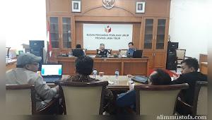 Rapat Redaksi Buletin BAWASLU JATIM Menuju 17 April 2019