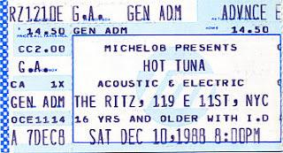 Hot Tuna, December 10, 1988