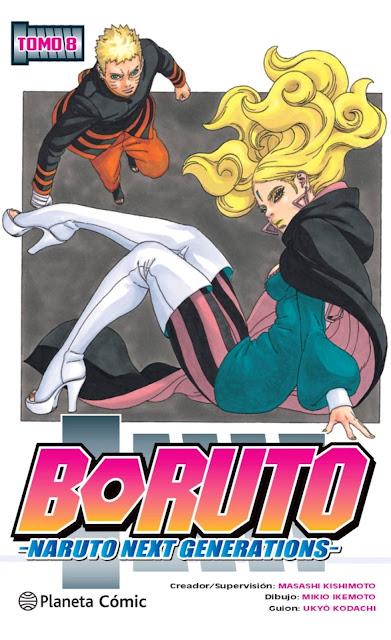 Reseña de Boruto: Naruto Next Generations vol.8 de Ukyô Kodachi y Mikie Ikemoto - Planeta Cómic
