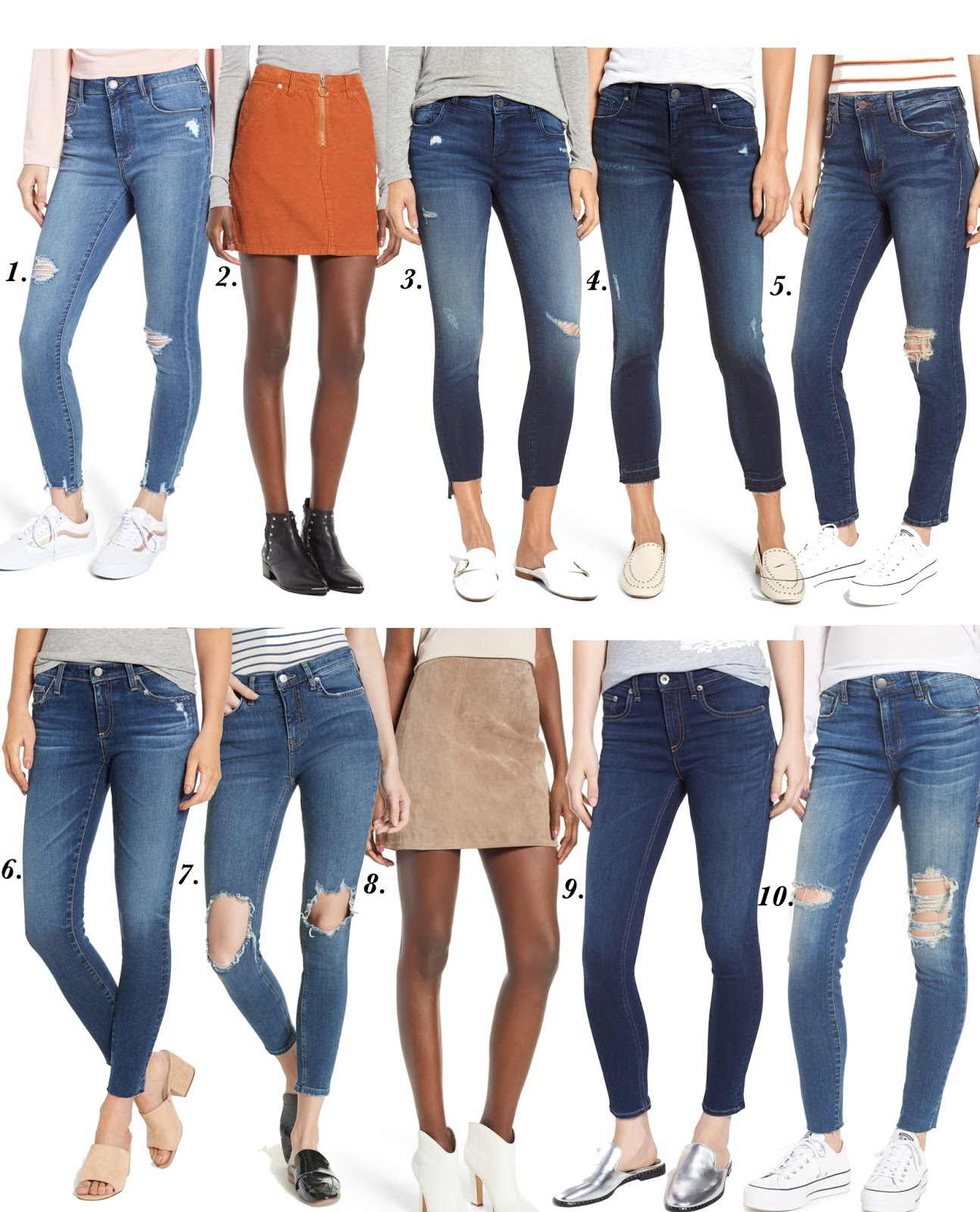 2018 Nordstrom Anniversary Sale: Jeans - Something Delightful Blog