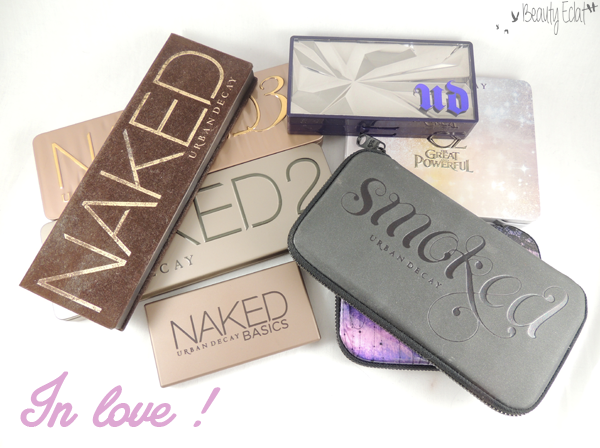 urban decay collection fards a paupieres urban decay palettes