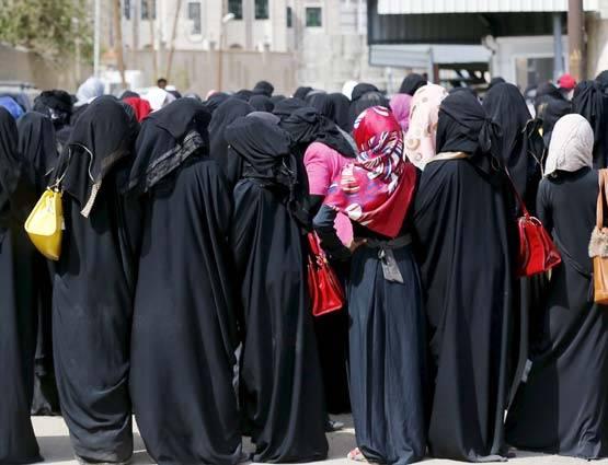 حياة النساء في المملكة العربية السعودية هي من هذا القبيل