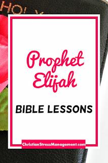 The Prophet Elijah Bible Lessons