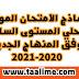نماذج الإمتحان الموحد المحلي جميع المواد المستوى السادس  وفق المنهاج الجديد 2021