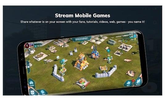 Stream labs - Aplikasi Live Streaming Game Terbaik Untuk Android