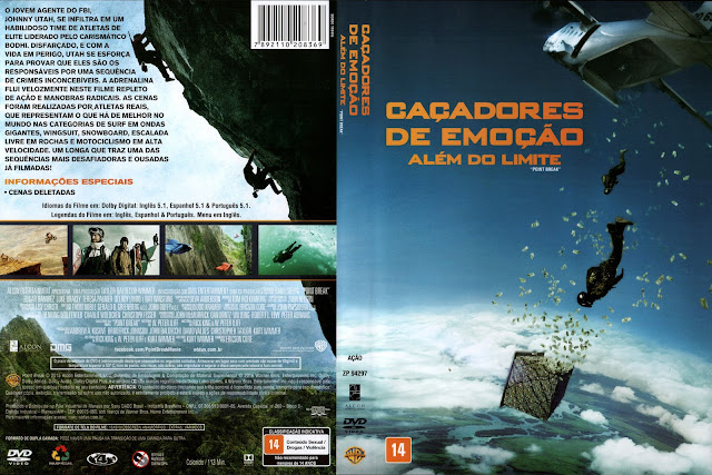 Capa DVD Caçadores De Emição Além Do Limite