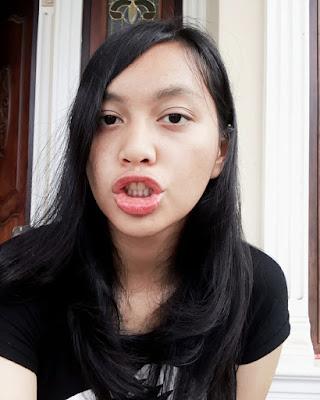 bibir seksi dan manis Nyepong