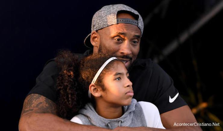 Kobe Bryant con su hija