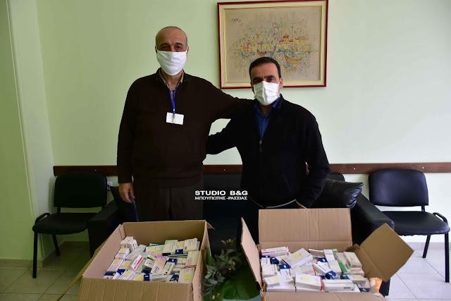 Φάρμακα από το Κοινωνικό Ιατρείο του Δήμου Ναυπλιέων στο Γηροκομείο Ναυπλίου