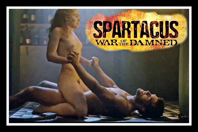 Anna Hutchison sex scene - Spartacus (2012)