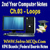 Computer Science Chapter 3 Loops Notes
