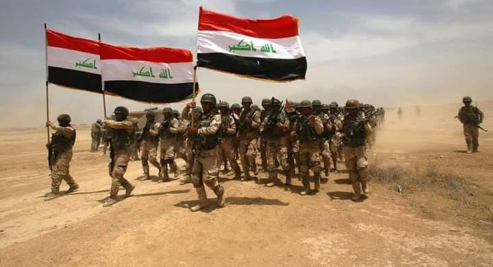 الجيش العراقي يباشر اعماله العسكرية في حماية المنافذ الحدودية