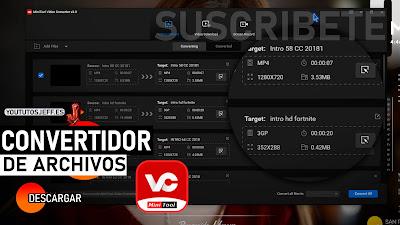 Convertidor de Archivos, Descargar MiniTool Video Converter para PC