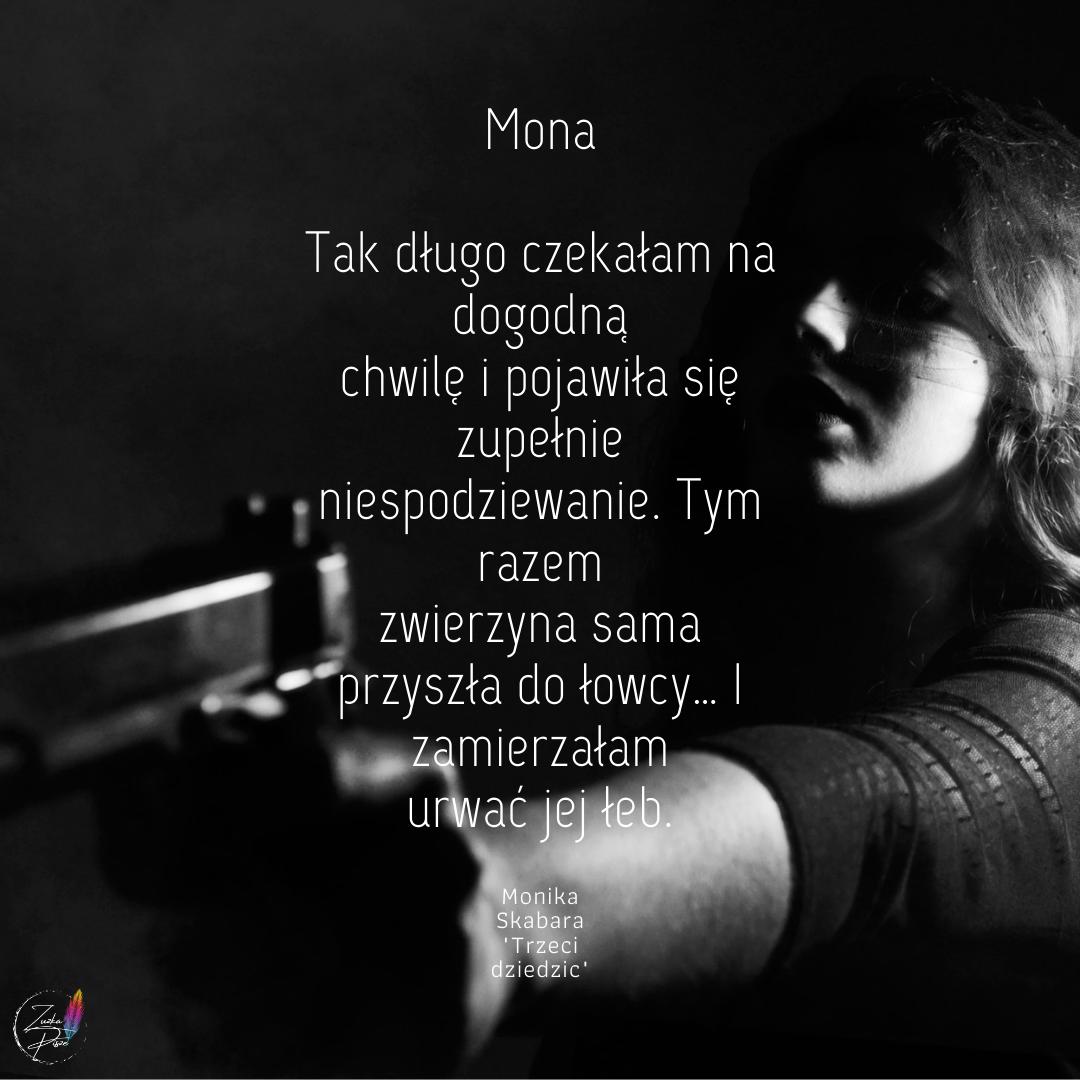 """Monika Skabara """"Trzeci dziedzic"""" - przedpremierowa patronacka recenzja książki"""