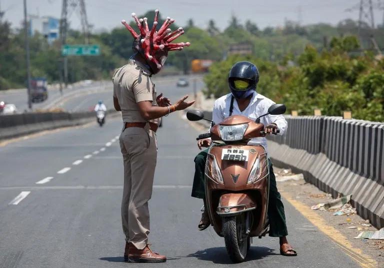 India Terapkan Lockdown, Setiap Hari 4 Ribu Warganya Positif Corona