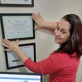 Pós Graduação em Marketing, Criatividade e Inovação (Unicesumar) concluída com sucesso!