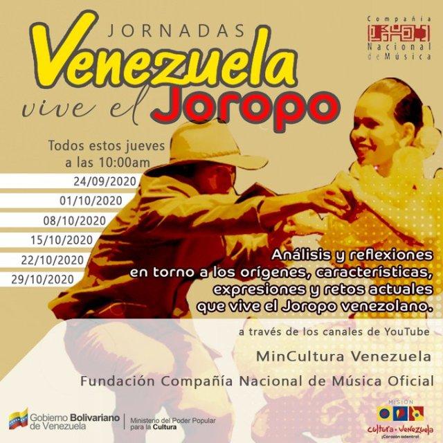 Arrancan las jornadas Venezuela vive el Joropo