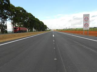 BR-050 tem mais 52 km de pistas duplicadas