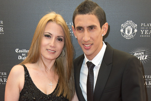 My husband is acting like zombie in PSG – Di Maria's wife