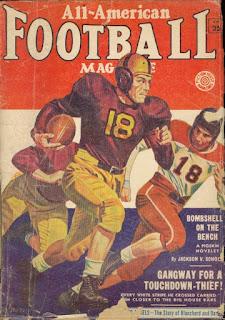 All American Football Magazine - Fall 1953