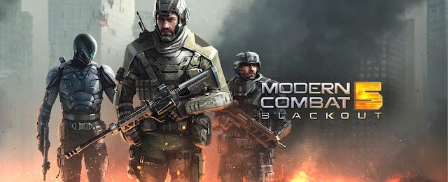 Download Game Modern Combat 5 Blackout v1.7.0I Mod APK + DATA MC5 (Offline)