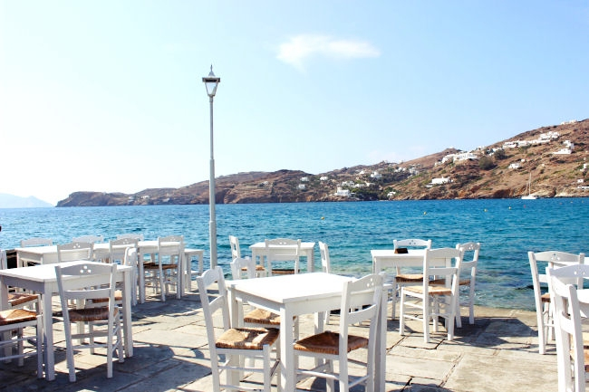 Best tavernas in Ios