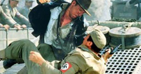 Nazis. I hate these guys. Part 1: Instant Karma