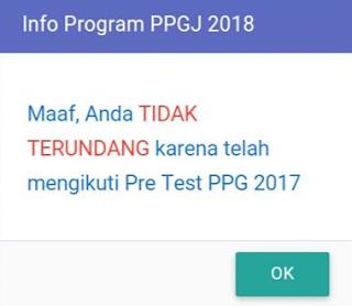 Tidak terundang ppgj 2018