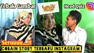 Cara tebak gambar di instagram menggunakan Filter head quiz instagram