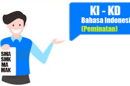 KI dan KD Bahasa Indonesia Peminatan SMA/SMK/MA/MAK Kelas 10, 11, dan 12 Kurikulum Darurat