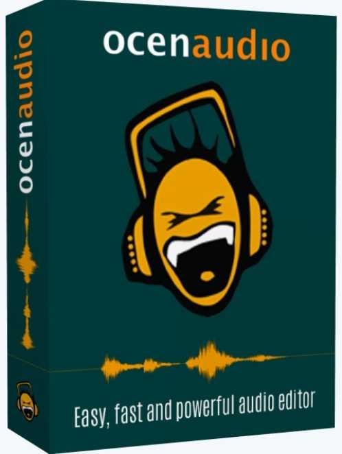 OcenAudio 3.7.10 poster box cover