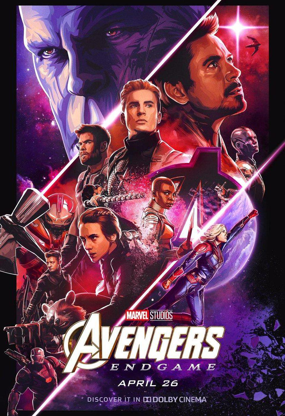 [HD-1080p] Avengers: Endgame Pelicula'Completa en Español ...